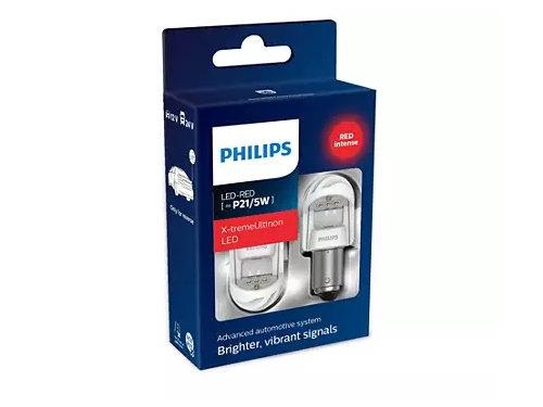Philips X-treme Ultinon Gen2 380 P21/5W LED in Red (Pair)