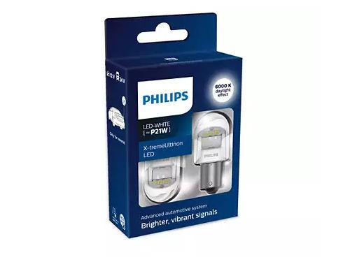 Philips X-treme Ultinon Gen2 382 P21W LED in White (Pair)