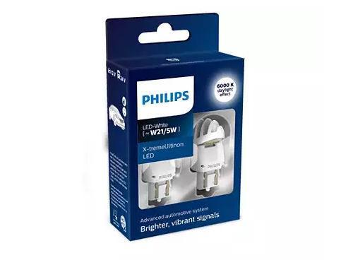 Philips X-treme Ultinon Gen2 580 W21/5W LED in White (Pair)