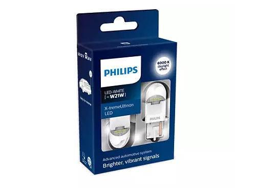 Philips X-treme Ultinon Gen2 582 W21W LED in White (Pair)