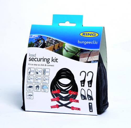 Ring Bungeeclic Bungee Cord Load Securing Kit