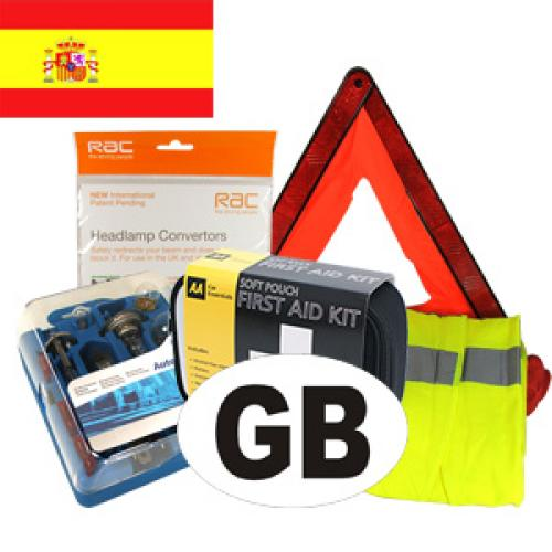 Spain Travel Kit for Driving in Europe