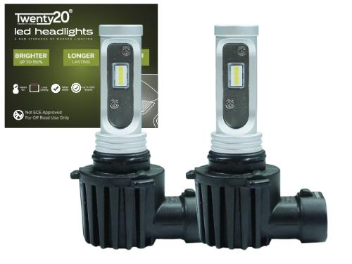 HB3/9005 Twenty20 Compact LED Headlight Bulb