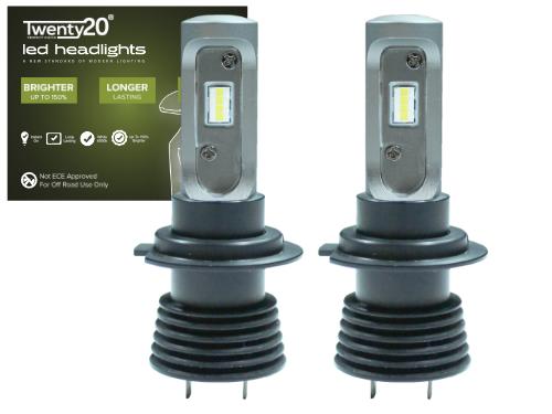 H7 Twenty20 Compact LED Headlight Bulb