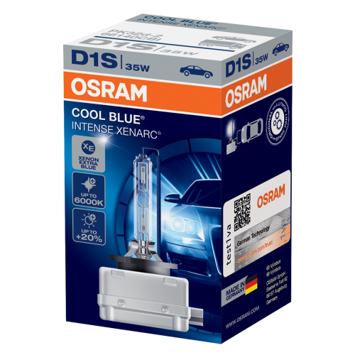 D1S OSRAM Cool Blue Intense Xenarc 35W 5000K Xenon HID Bulb