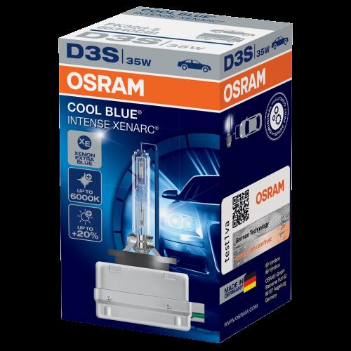 D3S OSRAM Cool Blue Intense 12V 35W 5000K Xenon HID Bulb