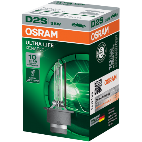 D2S OSRAM Ultra Life 35W Xenon HID Bulb