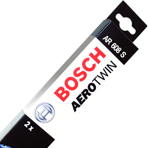 "Bosch Aerotwin AR608S Washer Jet Wiper Blades Jaguar S-type 24/19"" (600/475mm)"