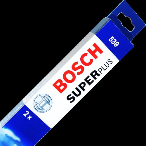 Bosch 539 Twin Pack Windscreen Wiper Blades
