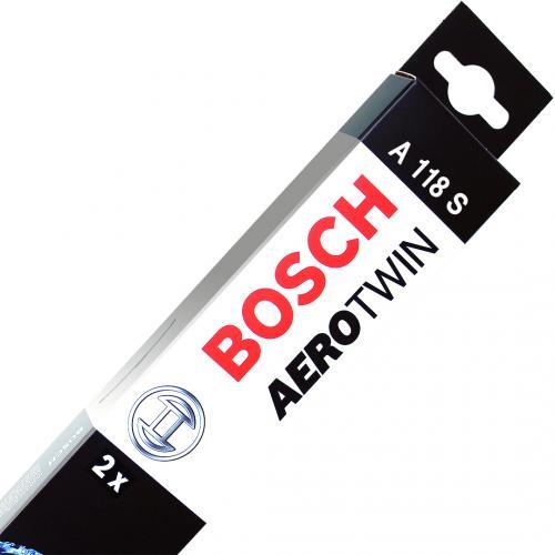 """Bosch AeroTwin Car Specific Multi-Clip Wiper Blades 24""""/16"""" A118S"""