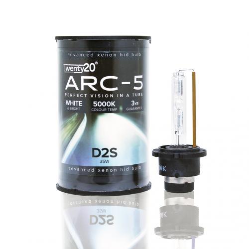 D2S Twenty20 ARC-5 Upgrade 35W 5000K Xenon HID Bulb
