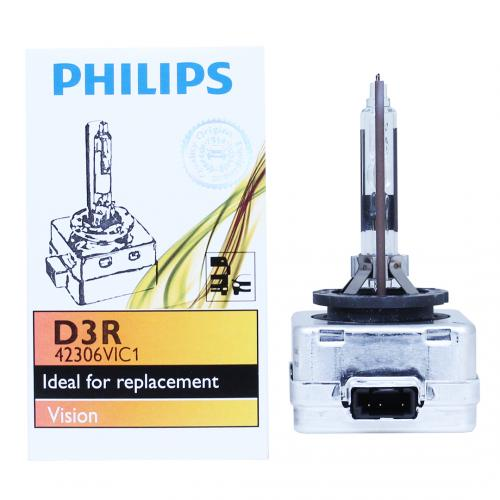 D3R Philips Vision Standard Replacement 35W 4300K Xenon HID Bulb