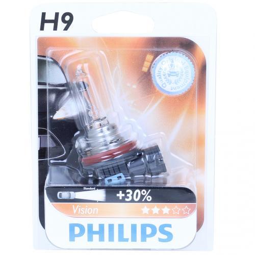 h9 philips vision 30 12v 65w halogen bulb. Black Bedroom Furniture Sets. Home Design Ideas