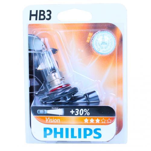 hb3 philips vision 30 12v 60w 9005 halogen bulb. Black Bedroom Furniture Sets. Home Design Ideas