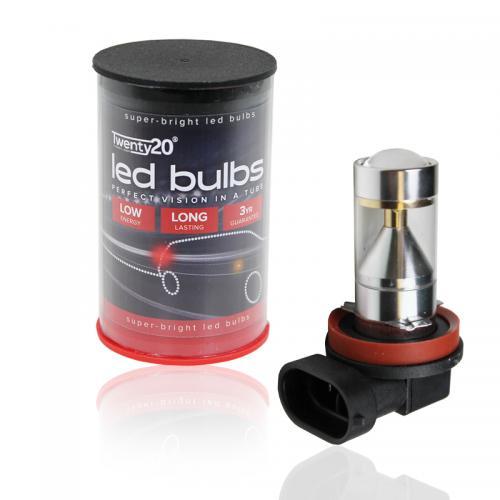 H9 Twenty20 Cree LED 12V Canbus Foglight Bulb