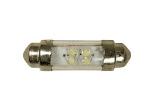 LED 24V 4 x LED Festoon Bulb - 36mm