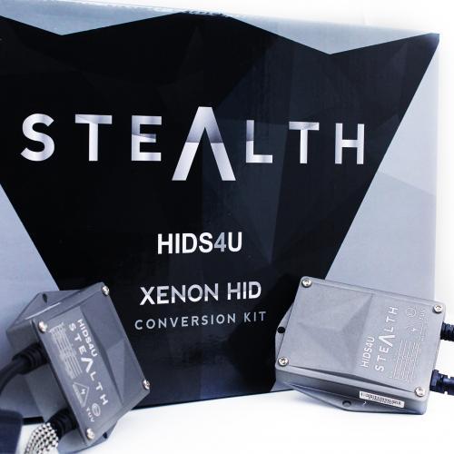 HB3/9005 HIDS4U Stealth 55W Xenon HID Conversion Kit