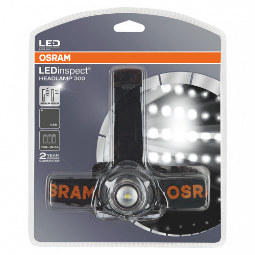 Osram LED Inspect Head Torch 300