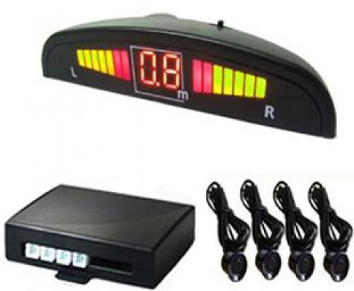 Wired Rear Parking Sensor - 4 Sensor