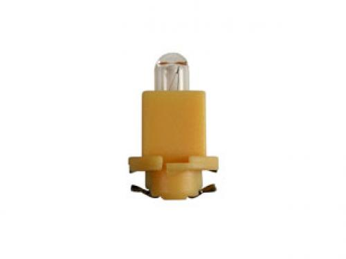 R1791 24v 1.2w Bx8.5d P C B Indicator Bulb Yellow Base