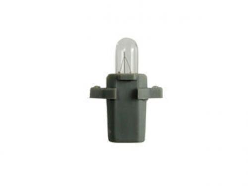 R508TBGY 24v 1.2w B8.3D  Panel Bulb Grey Base