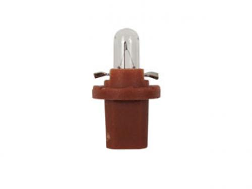 R508TBR 24v 1.2w BX8.5D  Panel Bulb Brown Base