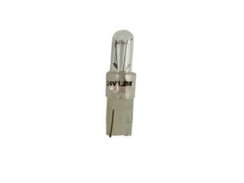 R508TCTR 24v 1.2w Kw 2 x 4.6D Panel Bulb Transparent Base