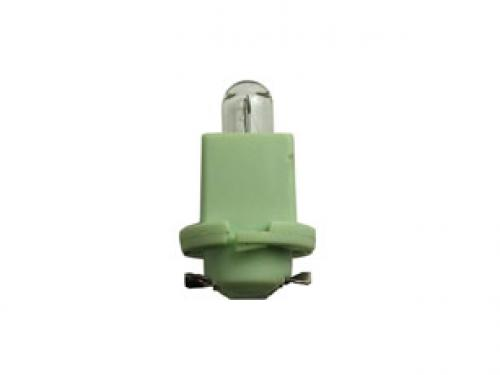R6929 24v 1.2w Bx8.5d P C B Indicator Bulb Light Green Base