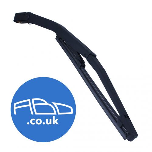 "13"" Inch Fiat Panda 2004 Onwards Plastic Rear Arm and Wiper Blade Assembly"