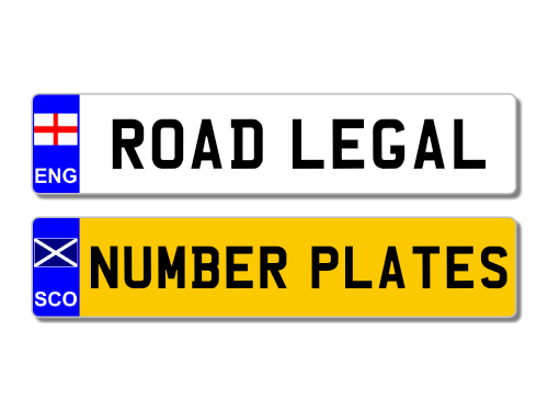 Number Plates for Cars, Bikes and Trucks