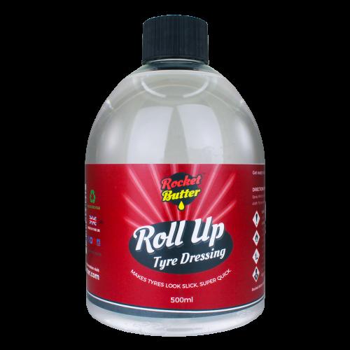 Rocket Butter Roll Up Tyre Dressing Spray 500ml