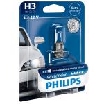 H3 Philips White Vision 12V 55W Halogen Bulb