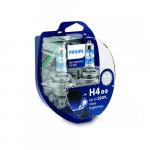 H4 Philips RacingVision GT200 12V 60/55W Halogen Bulbs (Pair)