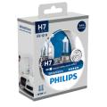 H7 Philips White Vision 12V 55W 477 Halogen Bulbs (Pair)