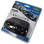 Ring Multi-Socket 12V 120W Twin USB 2A & Micro USB