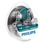 H4 Philips X-treme Vision +130% 12V 60/55W 472 Halogen Bulbs (Pair)
