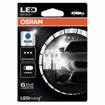 Osram 501 Long Life LED Retrofit Ice Blue (Twin Pack)