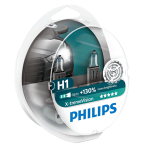 H1 Philips X-treme Vision +130% 12V 55W 448 Halogen Bulbs (Pair)