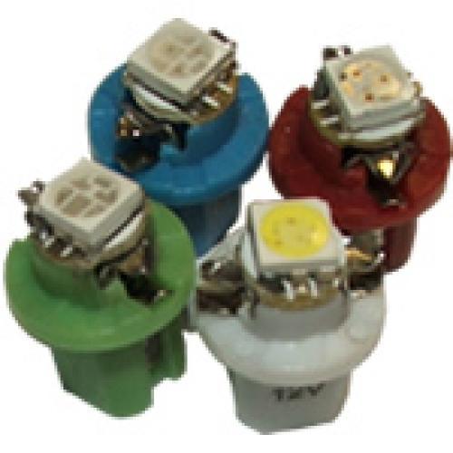 R509T LED B8.3D 12V 2W Panel & Dashboard Bulbs