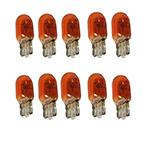 501A Amber Standard Replacement 12V 5W WY5W Side Indicator Wedge Bulbs (Trade Pack of 10)