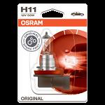 H11 OSRAM Original 12V 55W Halogen Bulb