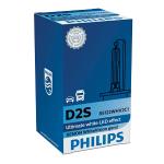 D2S Philips White Vision Gen2 35W 5000K Xenon HID Bulb