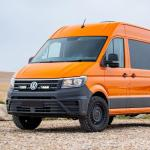 VW Crafter (2017+) Grille Mount Kit | Lazer Lamps