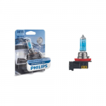H11 Philips WhiteVision Ultra 12V 55W Halogen Bulb