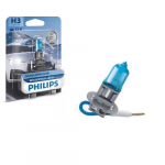 H3 Philips WhiteVision Ultra 12V 55W Halogen Bulb