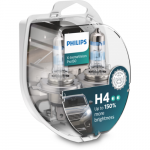 H4 Philips X-tremeVision Pro150 12V 55W/60W Halogen Bulbs (Pair)