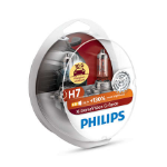 H7 Philips X-Treme Vision G-Force 130% Headlight Bulbs (Pair)