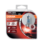 H4 OSRAM Night Breaker Unlimited +110% 12V 60/55W 472 Halogen Bulbs (Pair)