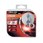 HB3 OSRAM Night Breaker Unlimited +110% 12V 60W 9005 Halogen Bulbs (Pair)