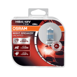 HB4 OSRAM Night Breaker Unlimited +110% 12V 51W 9006 Halogen Bulbs (Pair)